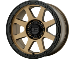 XD Series Wheels XD134 ADDICT 2 Matte Bronze Black Lip