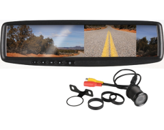 """Boss Audio Rearview Mirror with 4.3"""" TFT, Back Up Color Camera"""