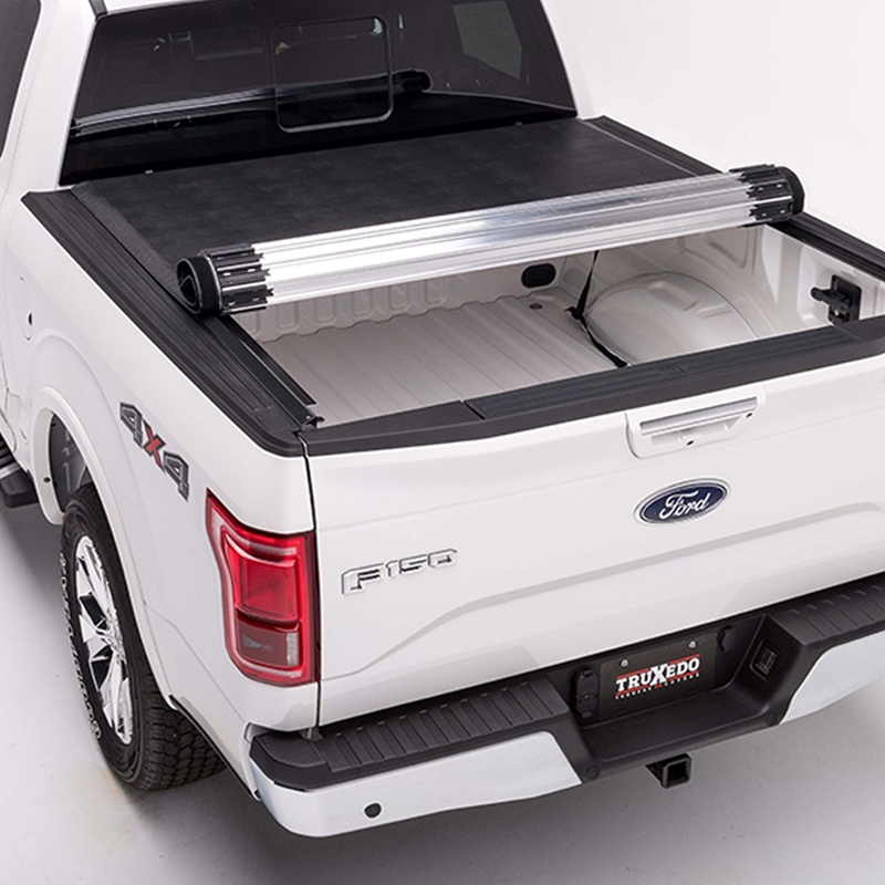 Shop Truxedo Titanium Hard Roll Up Tonneau Cover Hard Roll Up Tonneau Covers Tonneau Covers